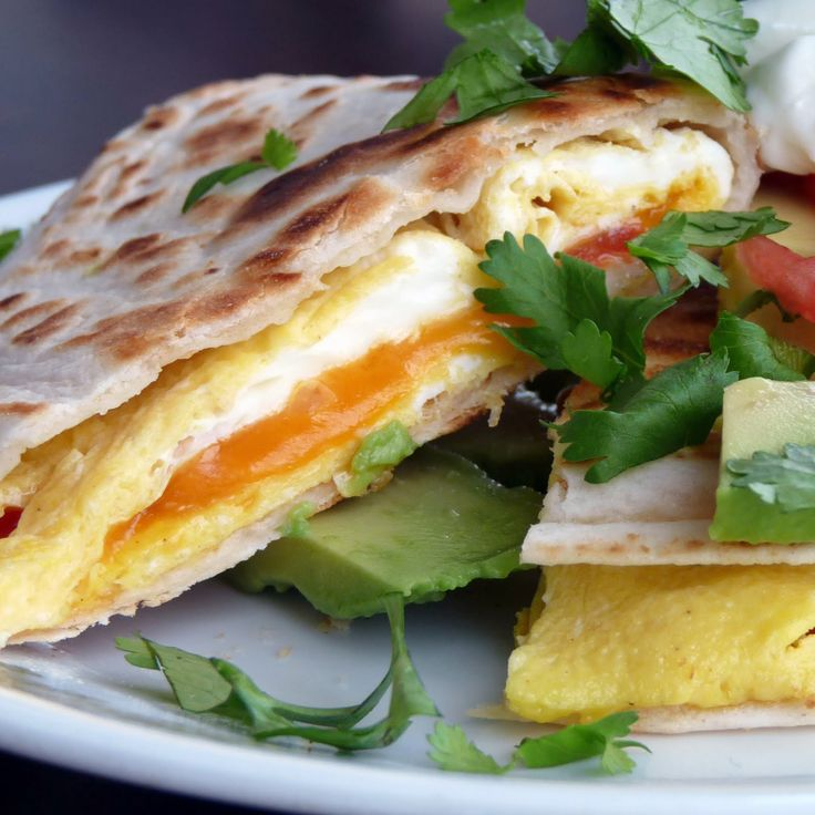 breakfast quesadilla | Recipes | Pinterest
