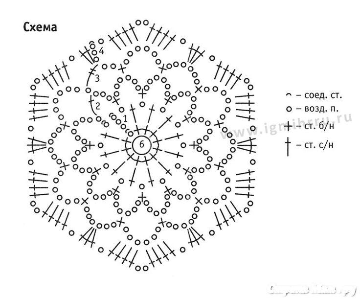 Схема вязания тапочки сапожки крючком 52