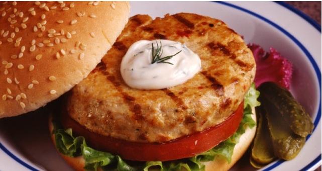 More like this: salmon burgers , salmon and burgers .