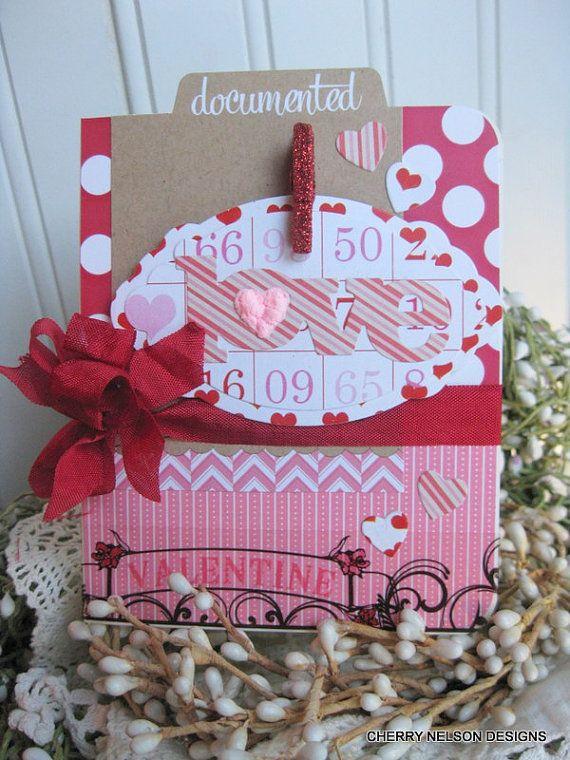 valentine card layouts
