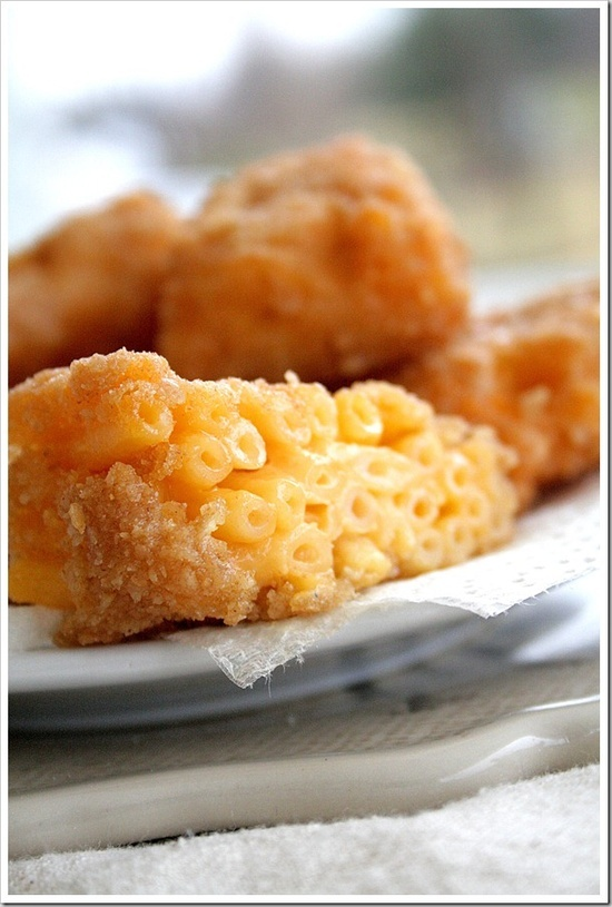 Deep Fried Macaroni and Cheese Bites   Favorite Recipes, Food deco an ...