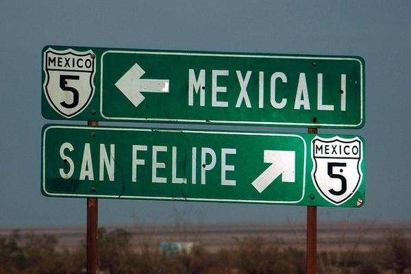 viaje mexicali:
