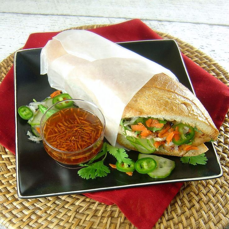 ... Lemongrass Chicken Banh Mi Sandwiches by Sue Lau | Palatable Pastime 9