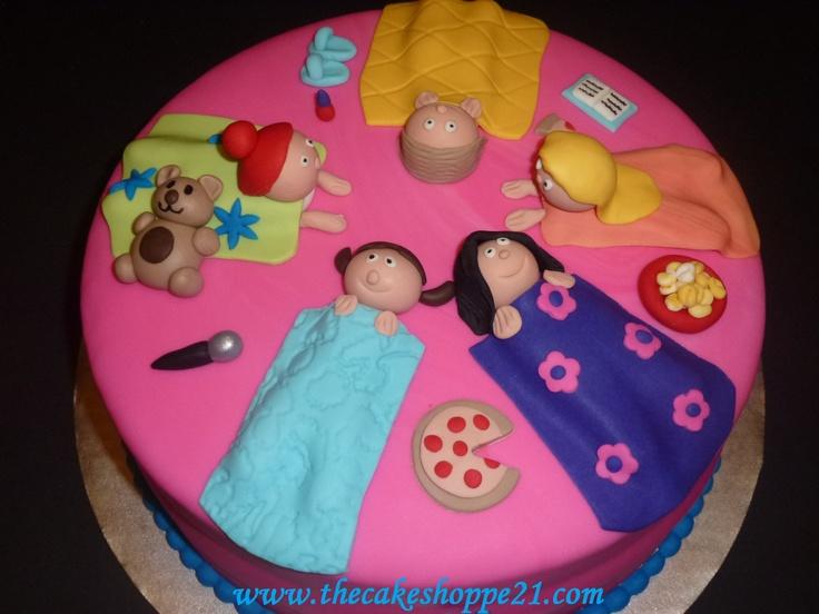 Slumber Party Cake Images : Slumber party cake birthday ideas Pinterest