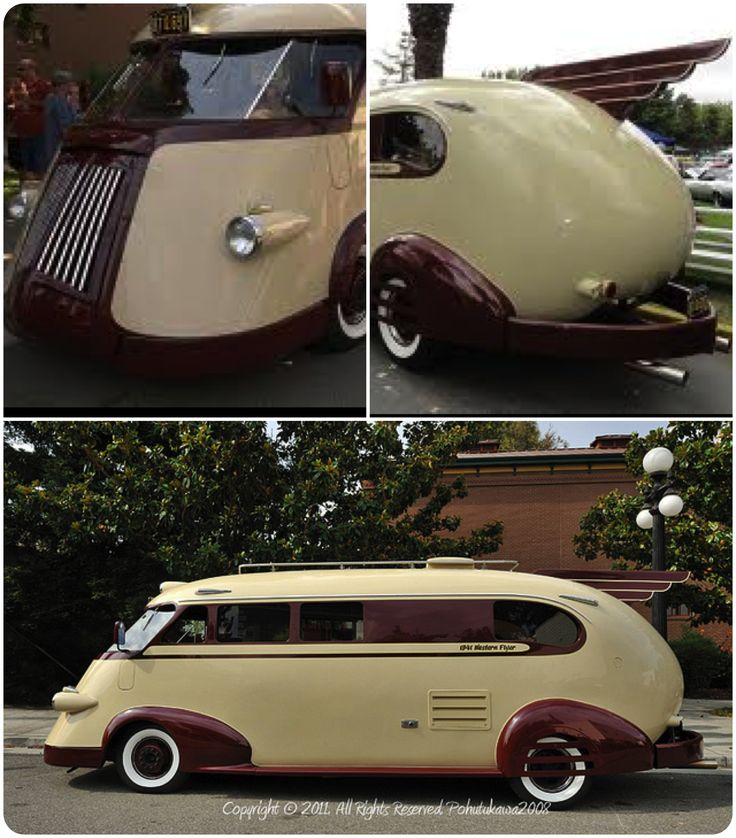 And the prize goes to the Western Flyer 1941 motor home! (My prize anyway) I can sooooooo see myself in this :~)