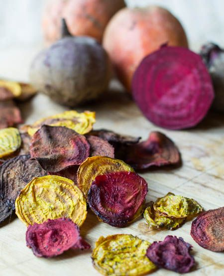 Beet Chips | Recipes - in the BEGINNING | Pinterest