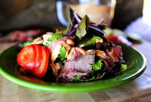 chipotle steak salad | Dinner is served | Pinterest