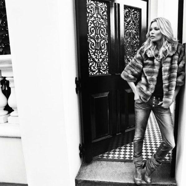 Kate moss for liu jo jeans fallwinter 2017 campaign