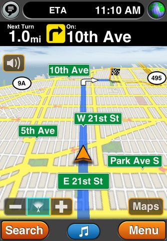 iphone app gps live tracking