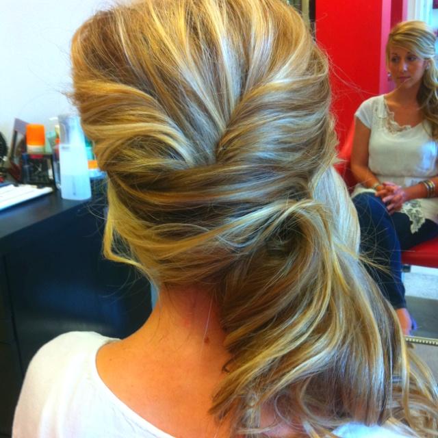 Wedding hair trial run | For the Home | Pinterest