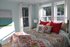 beach cottage bedroom so my colors my love of cottage style
