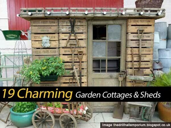 Backyard Barn Winery : Garden cottages and sheds  garden  Pinterest