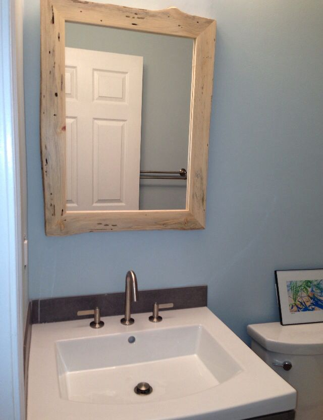 Pin By Along The Ridge On Rustic Framed Mirrors Pinterest