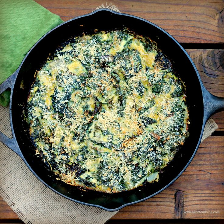 Swiss Chard and Kale Frittata | Veggies | Pinterest