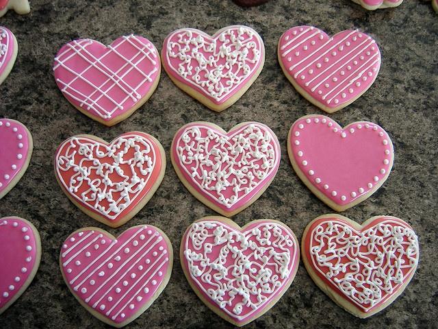 Valentine Cookies by gensler97 | Cookie Decorating | Pinterest