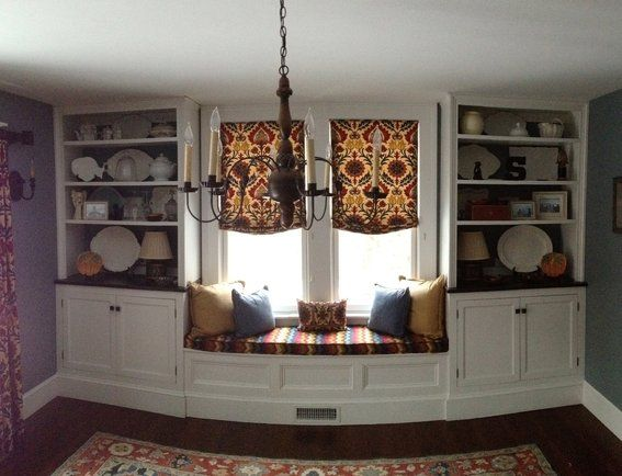 Pin by camille fogleman on home decor pinterest - Dining room built ins ...