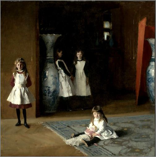 the daughters of edward darley boit essay John singer sargent (/ the spanish master's spell is apparent in sargent's the daughters of edward darley boit a flamboyant essay in red and his first full.