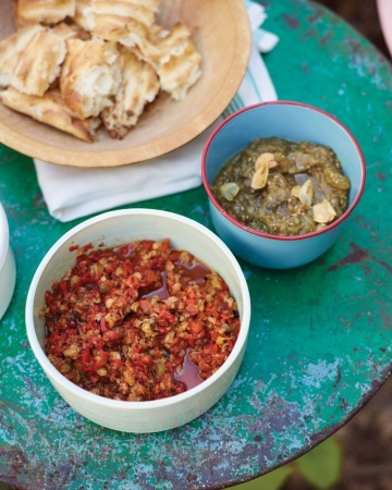 ... smoky-sweet flavor to this easy dip. Serve it with Roasted Eggplant