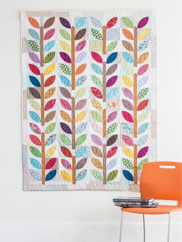 Summer Leaf quilt