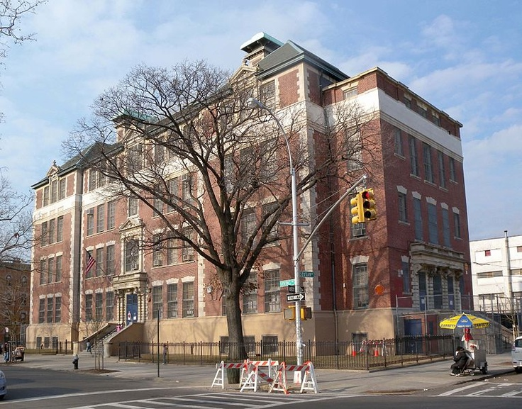 P.S.123 my elementary school in Bushwick, Brooklyn.