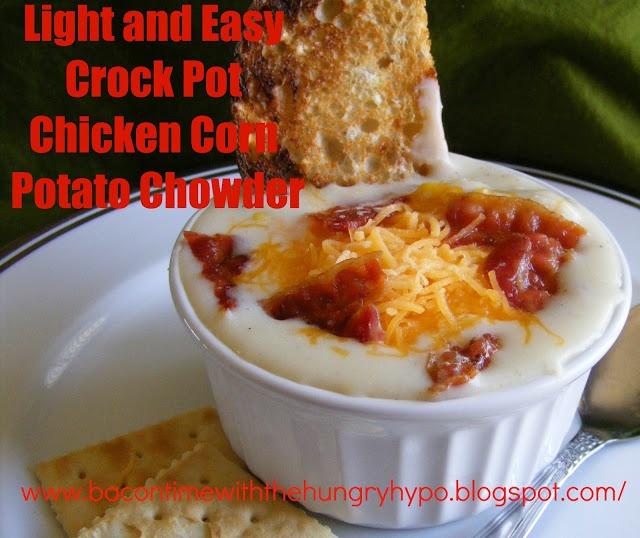 Light Chicken Corn Potato Chowder | Soup, Salad, & Sandwiches | Pinte ...