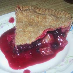 Blueberry and Rhubarb Pie @ allrecipes.com.au