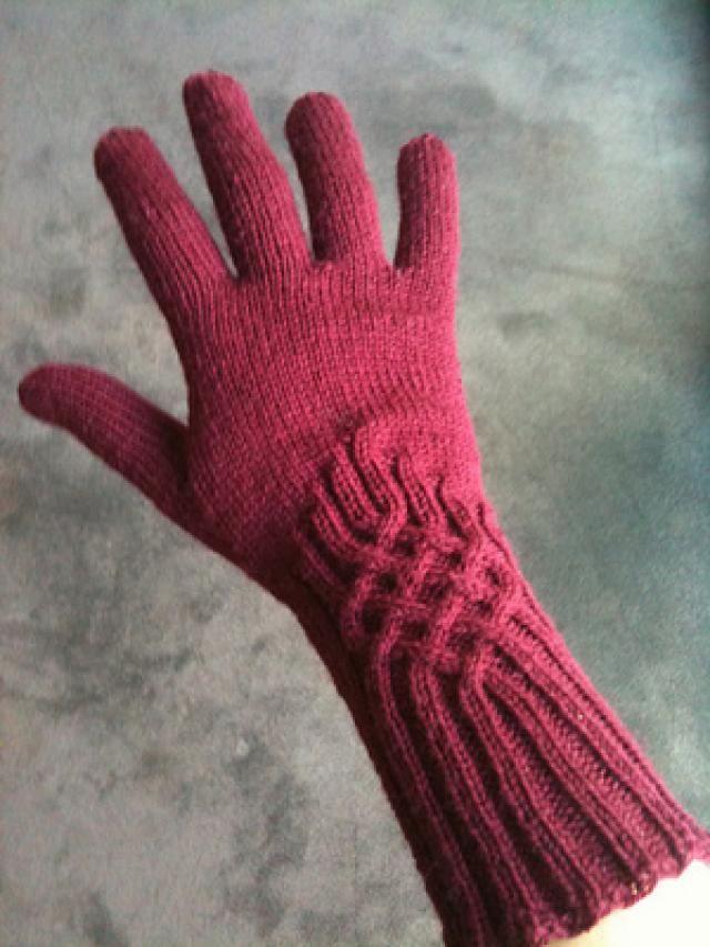 Вязание спицами для перчаток 338