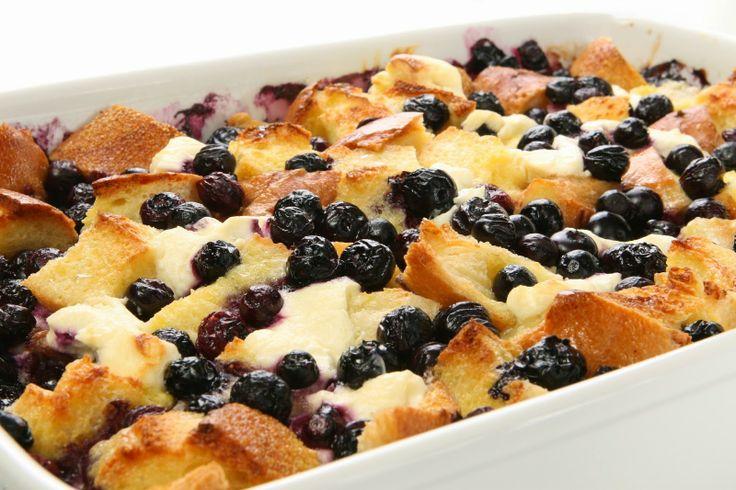 Blueberry Maple Breakfast Bake Recipe — Dishmaps