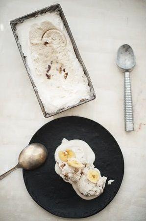 banana rum raisin ice cream ... | ice creams | Pinterest
