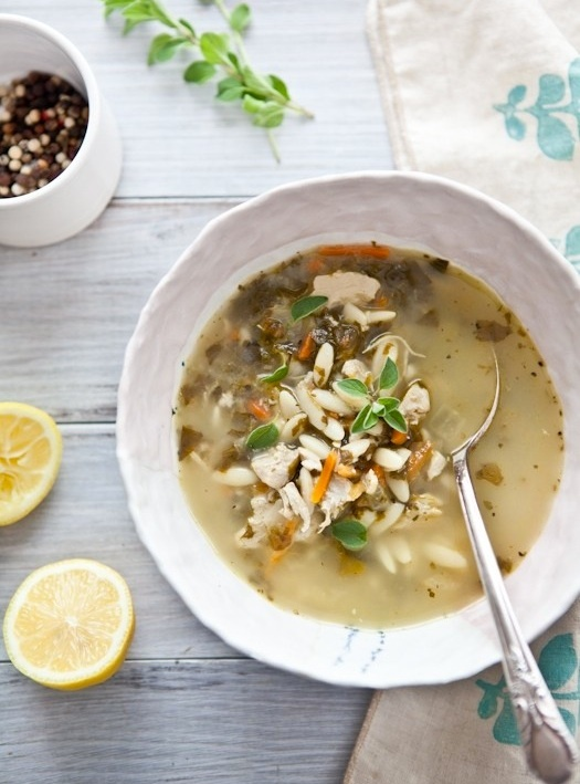 Lemon, Chicken & Orzo Soup | Substance. | Pinterest