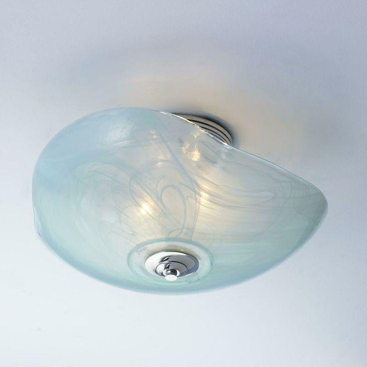 Cloud Glass Ceiling Light