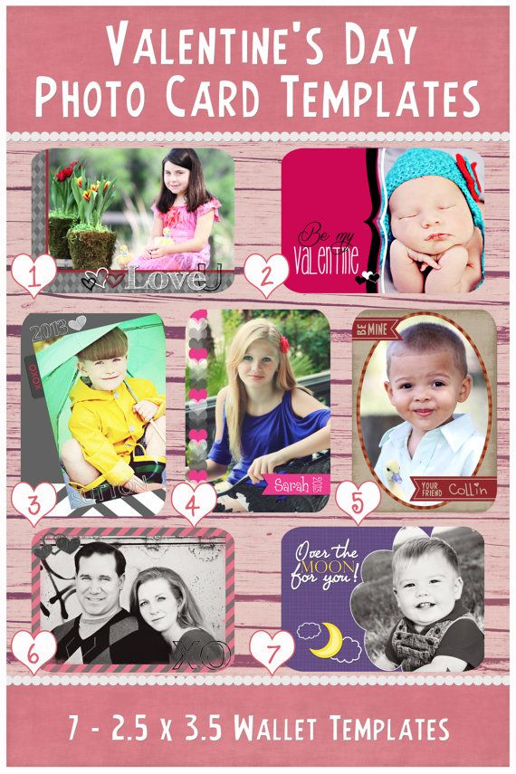 valentine day cards psd