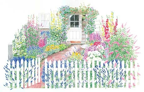 A Cottage Garden Plan