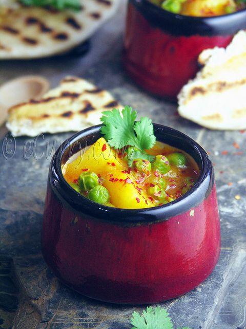 Aloo Matar/Peas and Potato Curry | Food and Drinks | Pinterest