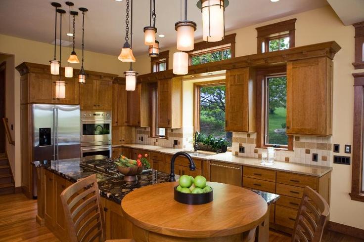 Frank lloyd wright inspired kitchen kitchen remodel for Frank lloyd wright kitchen ideas