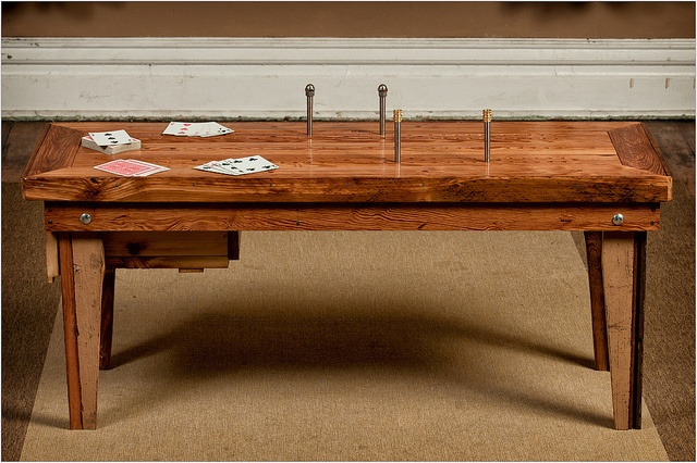 Giant Cribbage Board Coffee Table The Games