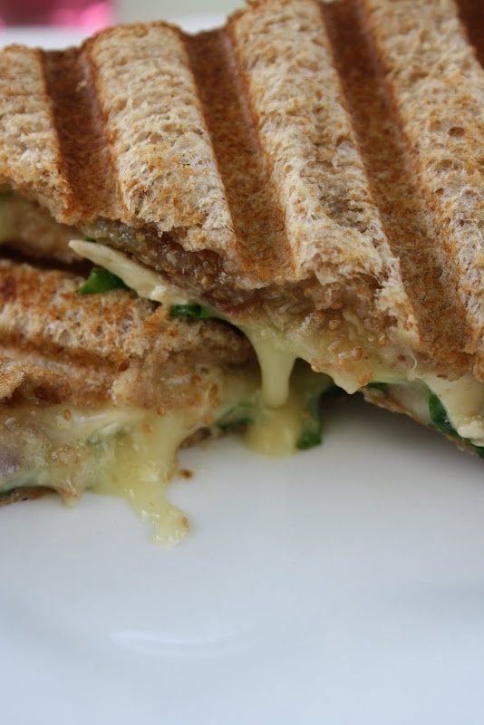 Fig and Brie Panini