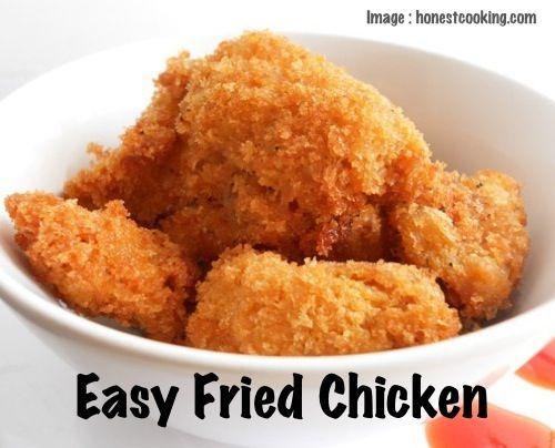 Easy Fried Chicken | Recipe Devil | Yum Yum stuff! | Pinterest