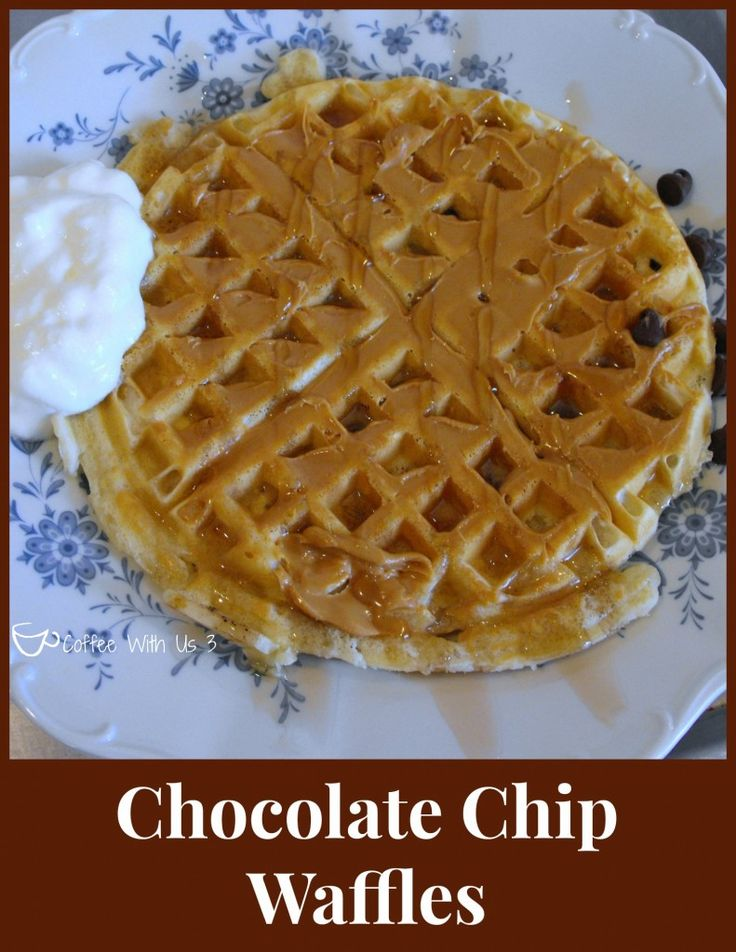 Chocolate Chip Waffles | Recipe