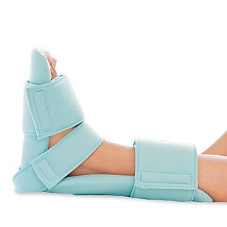 The FootSmart Passive Night Splint gently flexes your foot to relieve chronic heel pain.