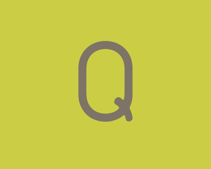 Letra latina Q mayúscula de la tipografía: La chata. #Typography #Freefont #Tipógrafo #deFharo #Fonts #Sans #Tipografia #Mayusculas #Uppercase #Letters #Letras #Retro #Design