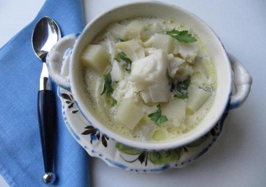 Oven chowder - The Boston Globe Puree some potato to thicken/sub for ...