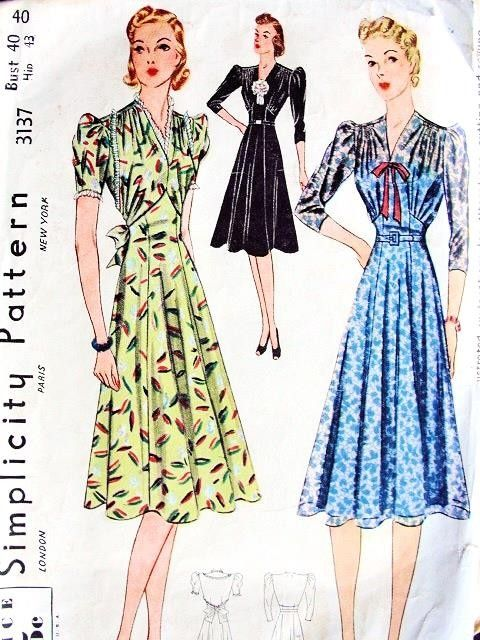 1930s Dress Patterns | www.imgkid.com - The Image Kid Has It!