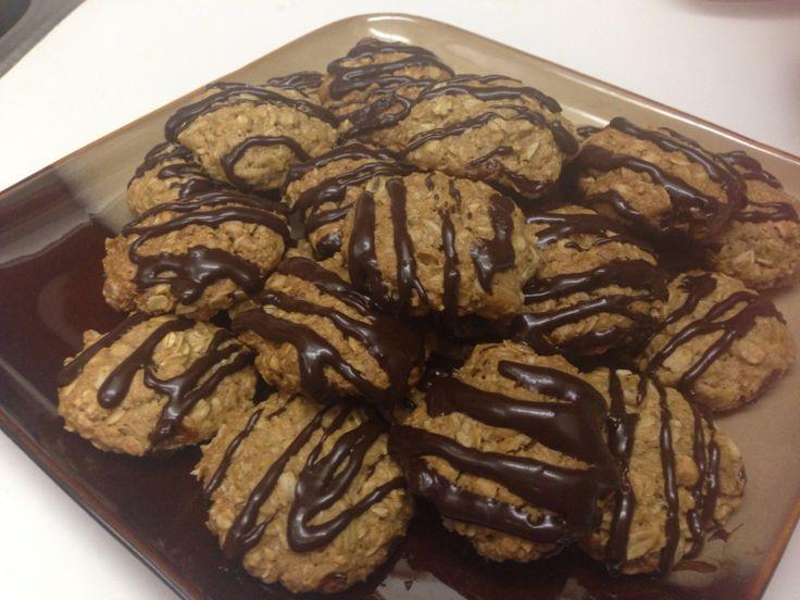 Chocolate pecan oatmeal cookies | Yummy!!! | Pinterest