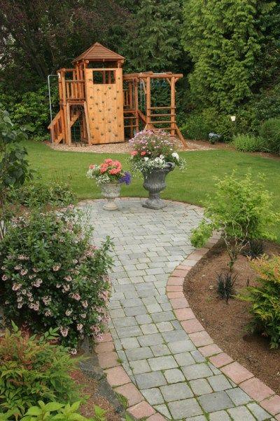 Backyard Jungle Gym Ideas : Kid Friendly Backyard  Backyard ideas!  Pinterest