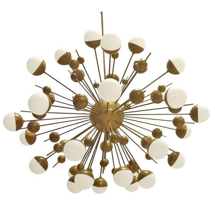 sputnik chandelier by stilnovo lamparas pinterest. Black Bedroom Furniture Sets. Home Design Ideas