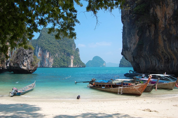 Hong Island, Krabi, Thailand  THAILAND  Pinterest