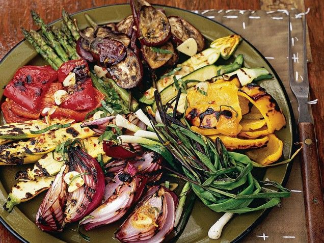 Grilled Vegetable Salad Capri-Style...perfect summer recipe for a ...