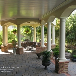 Covered back porch back yard ideas pinterest for Covered back porch ideas