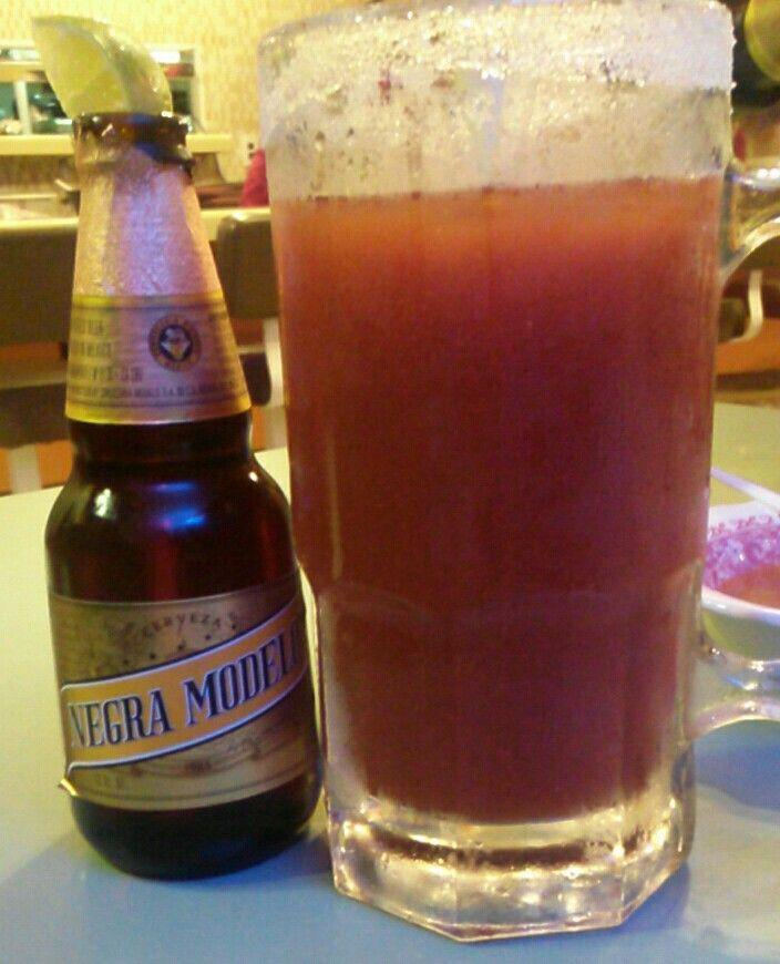 Negra Modelo Michelada | Cheers - Drunken Tooth | Pinterest